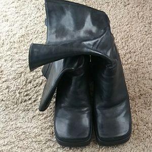 Enzo Angiolini Shoes - Square Combat Boots